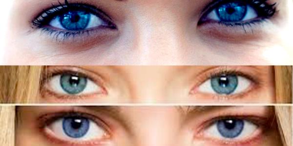La procédure au laser vos yeux peuvent  virer au bleu
